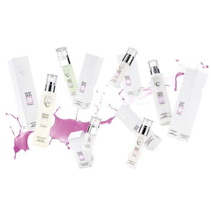 Linea cosmetica ad alta ricerca cosmetologica creata per le pelli sensibili, reattive e con couperose
