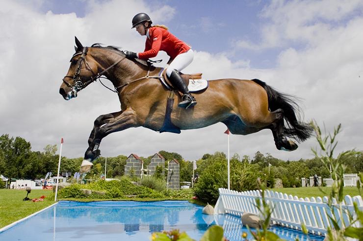 sponsor Horse show jumping